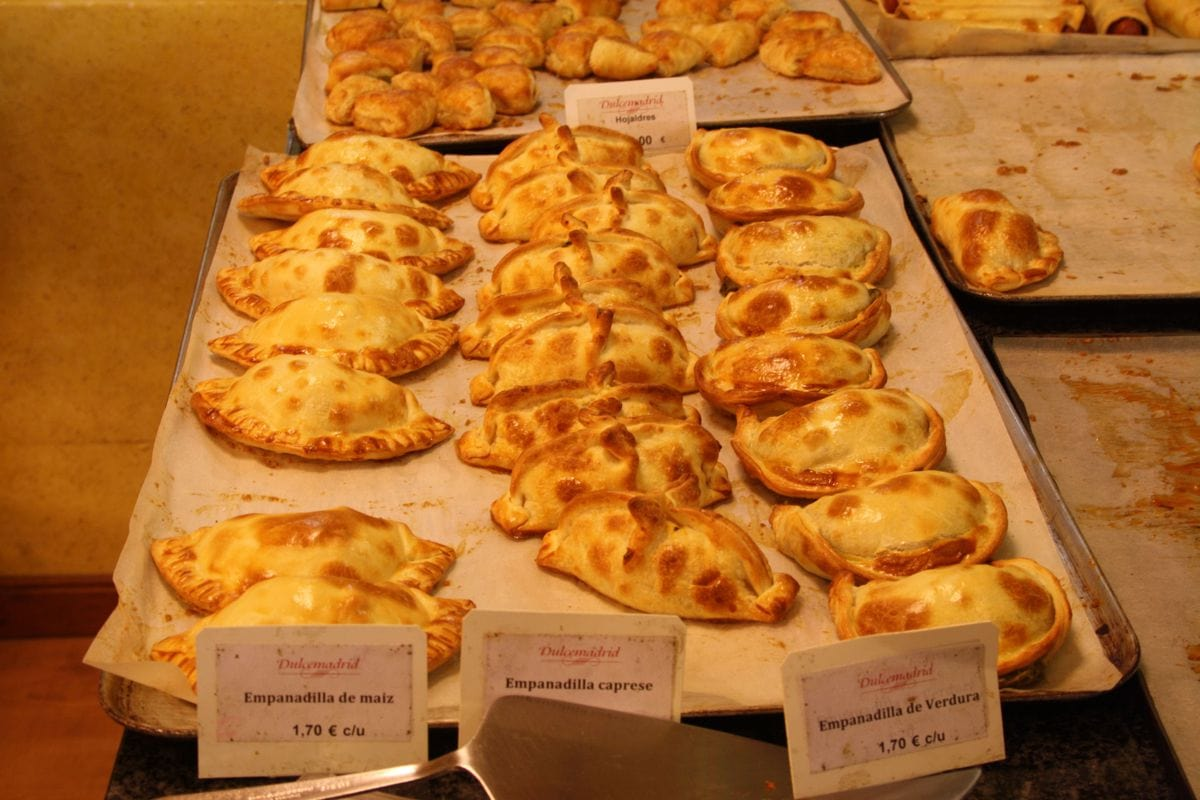 Argentine beef empanadas are my favorite flavor, but there are lots to choose from!