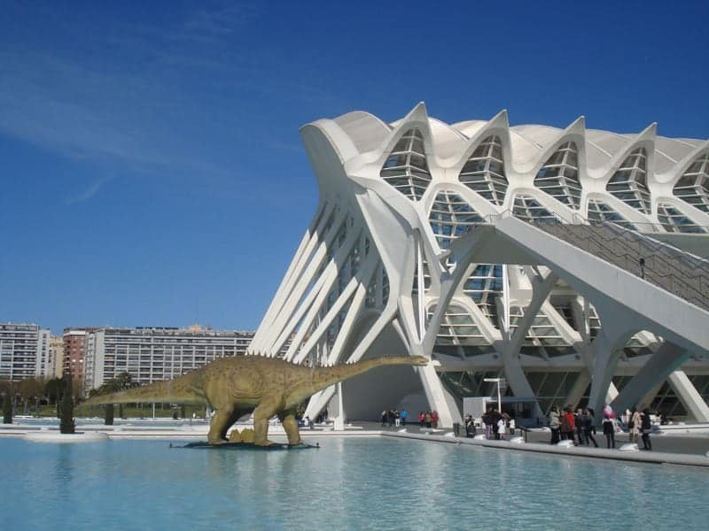 A weekend in Valencia, the city of arts of sciences.