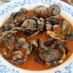 Spanish style clams recipe