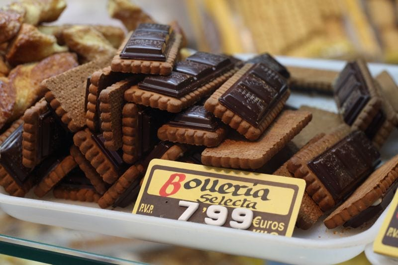 The chocolate in Spain is not to be missed!