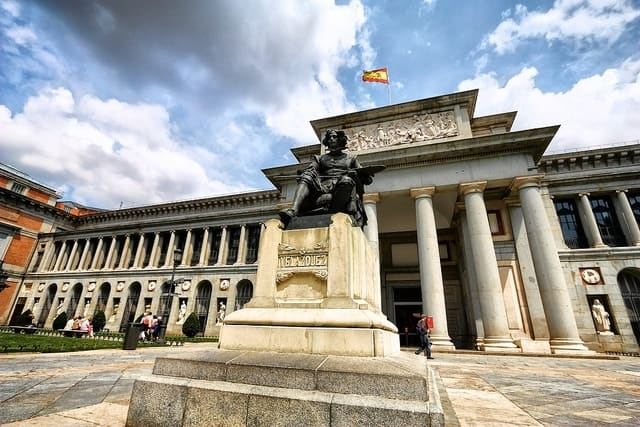 Visit the Prado Museum on one of the best walking tours in Madrid.