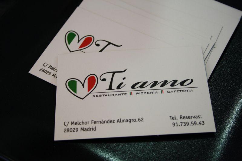 Madrid Ti Amo Restaurante