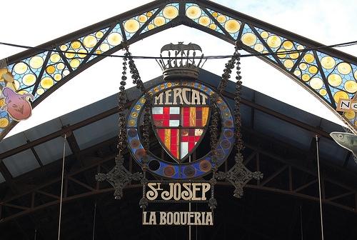 Barcelona Boqueria Market
