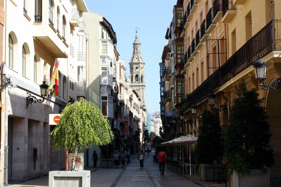 Logroño city center Spain