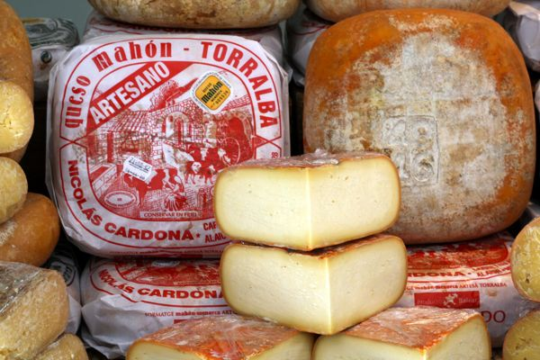 One of the best cheeses in Spain is Mahón from the Balearic Island of Menorca.