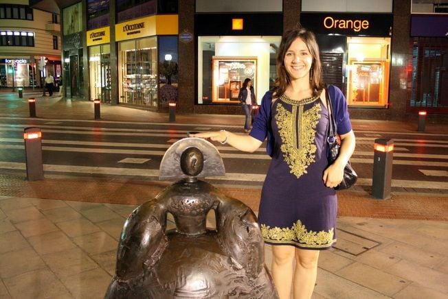 Bilbao scultpture