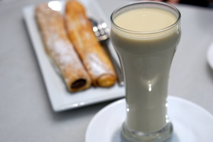 Try horchata on a trip to Valencia