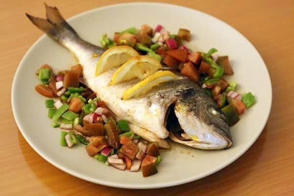 11 spanish christmas recipes for a traditional holiday feast an baked bream is a common second course at spanish christmas dinners forumfinder Choice Image