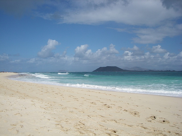 Fuertevenura beach