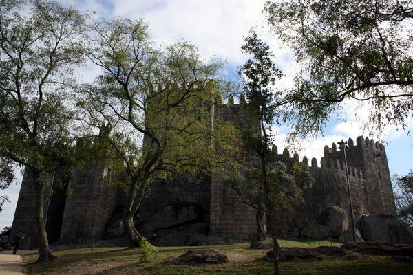 Castle Guimarães, Portugal.