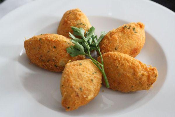 Portuguese cod croquettes