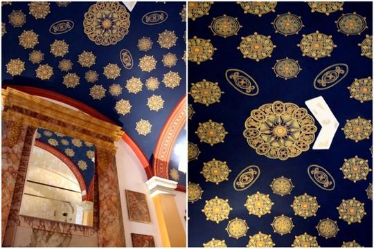 Il Convento dei Fiori di Seta ceiling