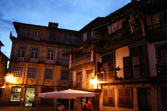 Guimaraes at night