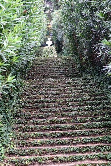 Santa Clotilde staircase