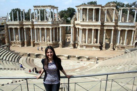 Ruins Merida Spain