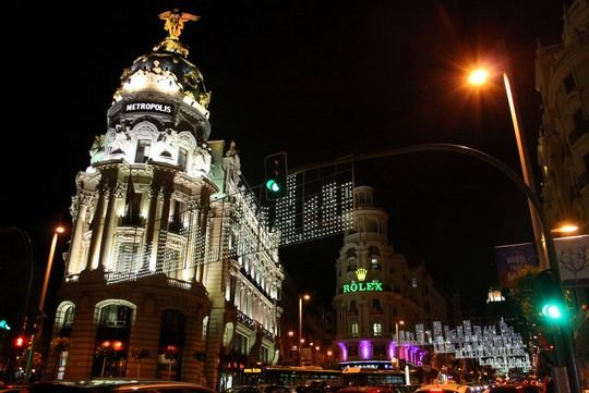 Christmas Lights in Madrid 2012