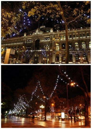 La Castellana lights