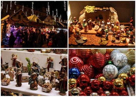 Adornos de Navidad Plaza Mayor Madrid