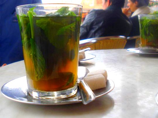 Pictures from Marrakesh: Mint Tea