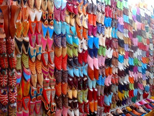 Pictures from Marrakesh: Shoes
