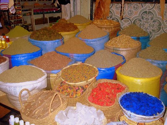 Pictures from Marrakesh: Spice Market