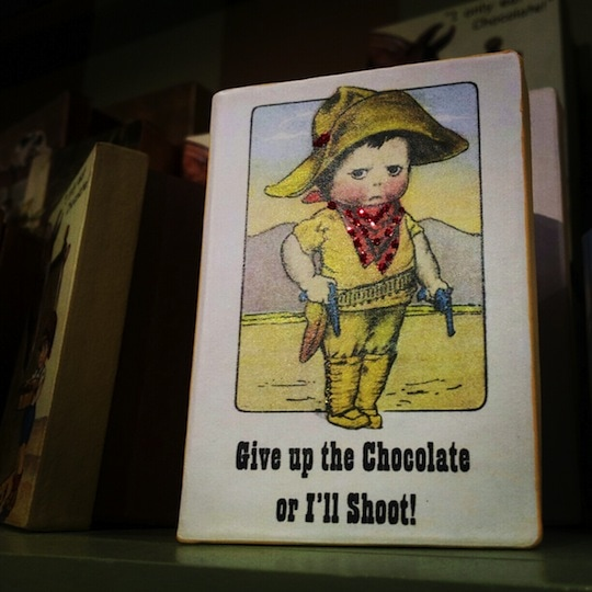 Chocolate box Beacon Hill Chocolates