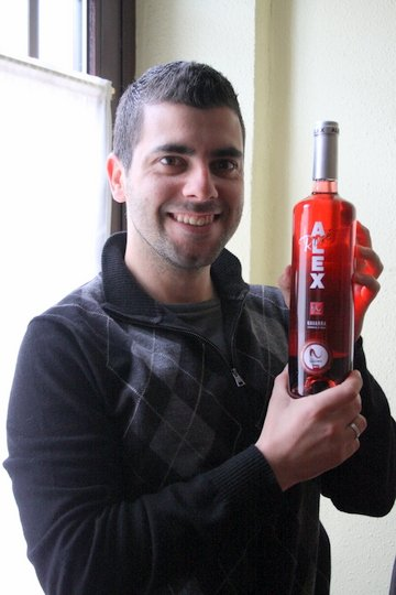 Rose wine Navarra