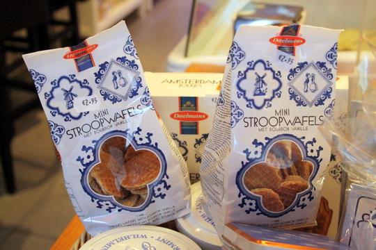 Stroopwafel foods of Amsterdam