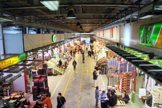 Mercamadrid market