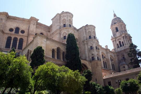 Malaga Cathedral La Manquita