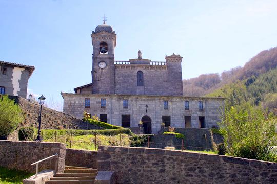 Church Leitza Iglesia Leitza