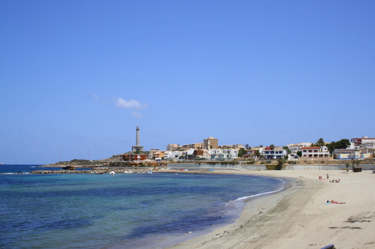 Murcia beach at Cabo de Palos