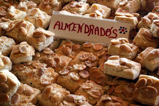 Almendrados, Murcian cookies, flavors of Murcia