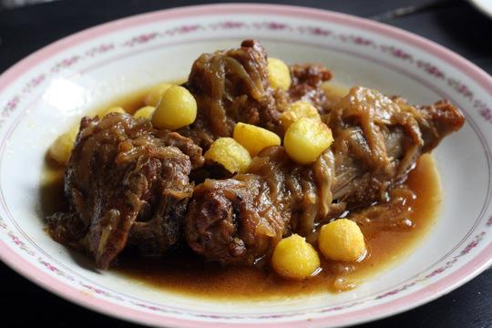 Goat stew at Taberna Carmencita