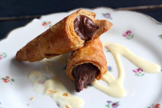 Chocolate cones