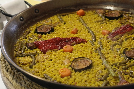 Murcian Style Vegetable Paella Recipe