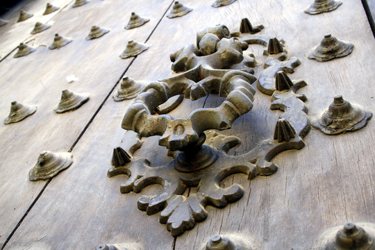 Cordoba door knocker