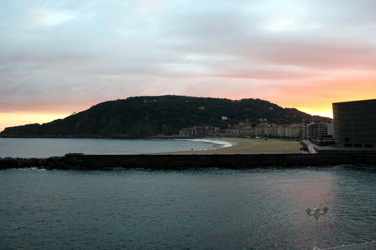 View from San Sebastian apartment rental