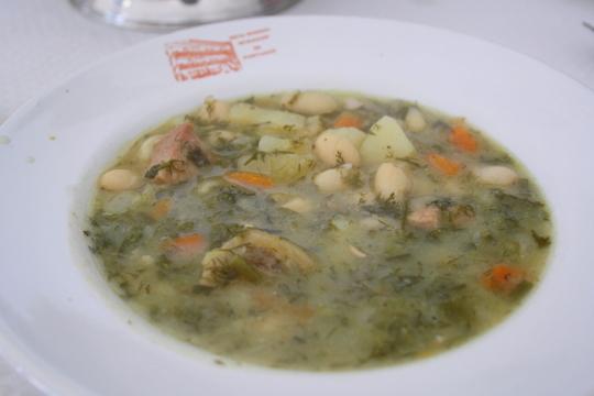 Fennel stew, cocido de hinojo