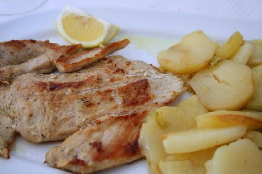 Iberian secreto pork