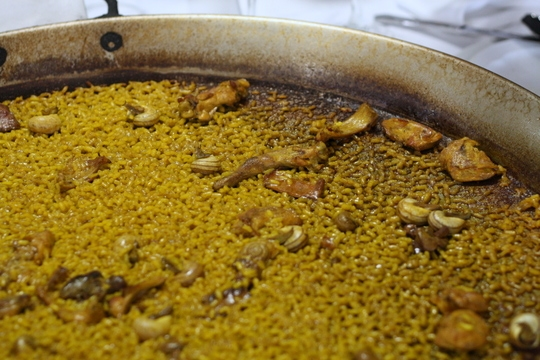 Rice with rabbit in Spain, Spanish food blog