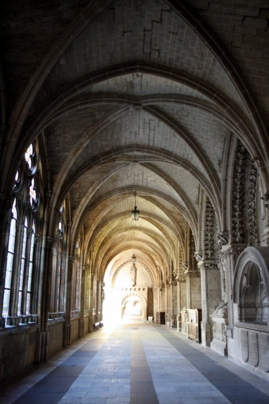 Inside Burgos Cathedral