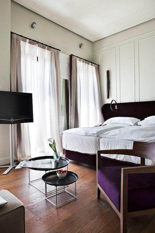 rooms at alma seville, luxury seville hotel