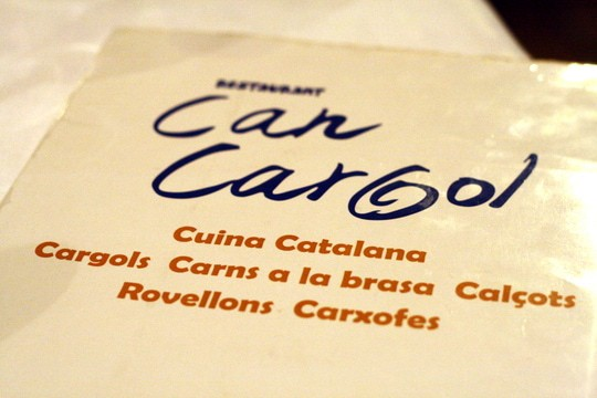 Can Cargol: Traditional Catalan Food in Barcelona