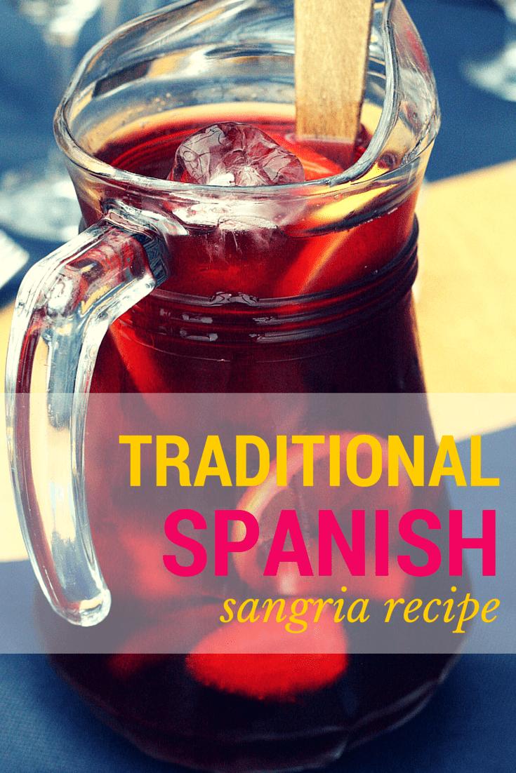 Traditional Spanish Sangria Recipe - Spanish Sabores