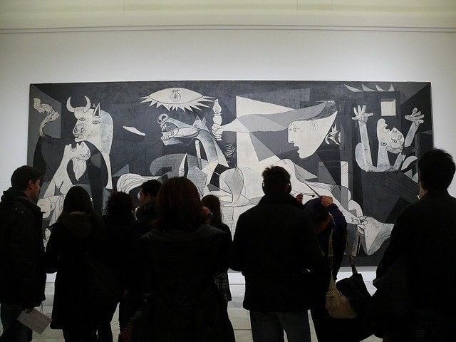 Visiting Guernica