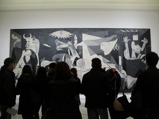 Visiting Guernica Spain