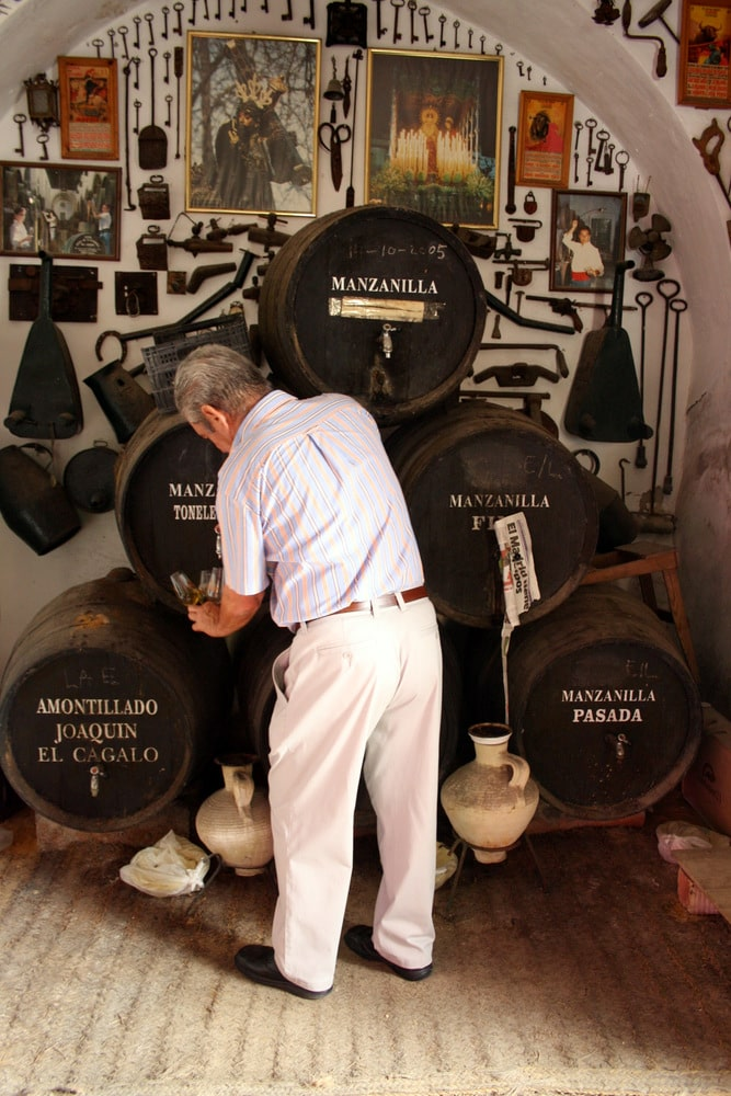Tasting sherry from a century old solera is one of the food experiences in Spain that's on my bucket list!