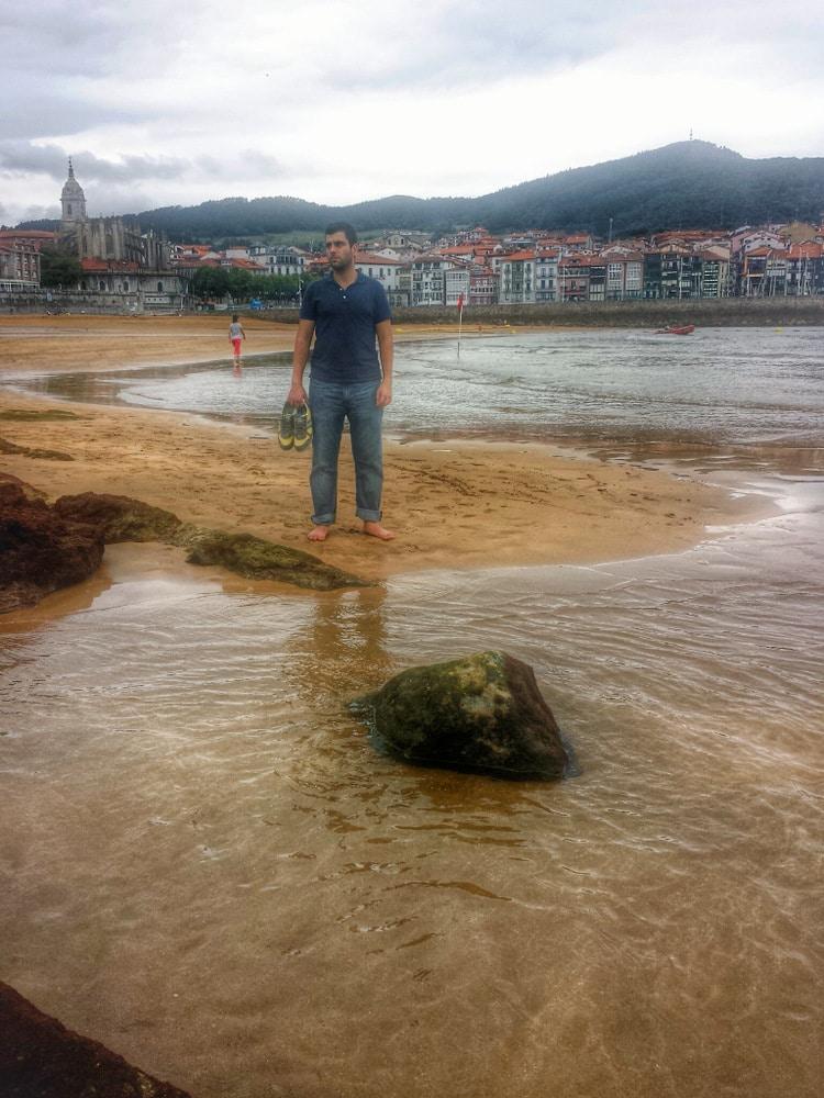 Lekeitio beach