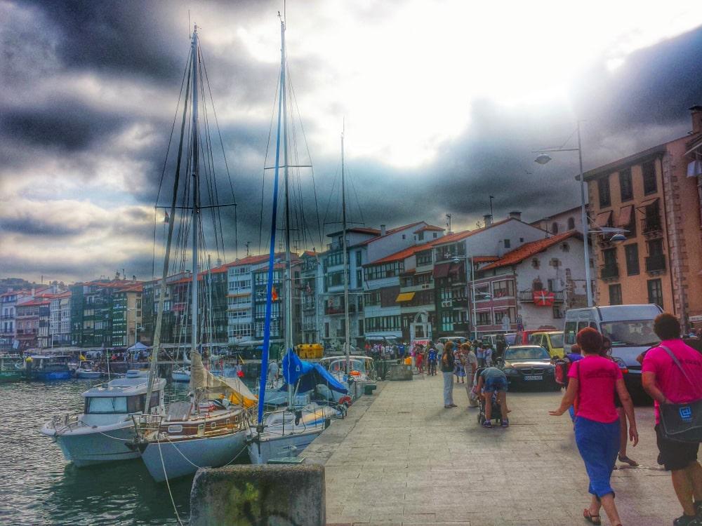 Lekeitio harbor